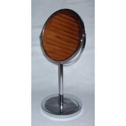 Glaces et miroirs fauteuil barbier for Psyche miroir sur pied