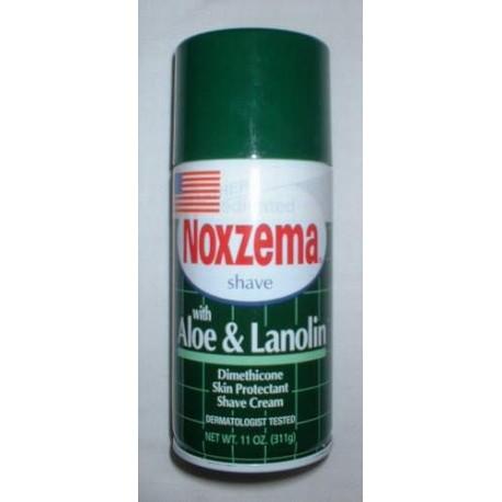 "Mousse à raser NOXZEMA ""Aloe Lanolin"""