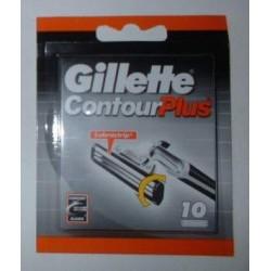Lames de rasoir GILLETTE Contour Plus