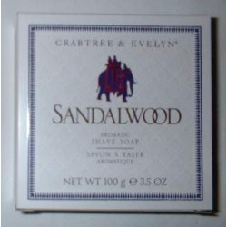 Savon à raser Crabtree & Evelyn SANDALWOOD