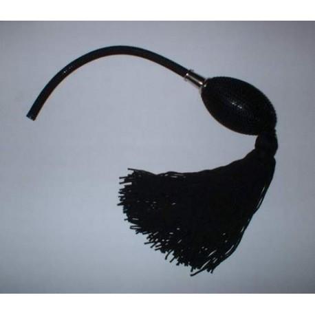 poire de rechange noire pour vaporisateur monture chrom e fauteuil barbier. Black Bedroom Furniture Sets. Home Design Ideas
