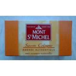 """Mont Saint Michel Savon Cologne """"Ambré Autentique"""""""