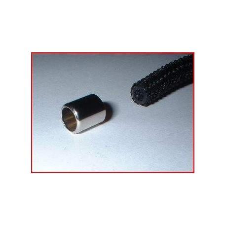 Pièce chromé pour tuyau de vaporisateur 5mm