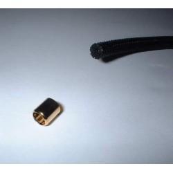 Pièce dorée pour tuyaux de vaporisateur 5mm