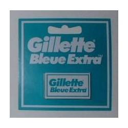 """Lames de rasoir GILLETTE double """"Bleue Extra"""""""
