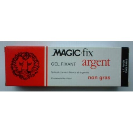 Gel fixant MAGIC-FIX argent