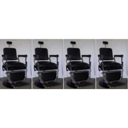 Ensembes de 4 fauteuils de Barbier