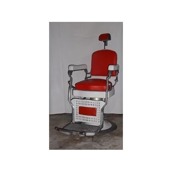 fauteuil italien rouge fauteuil barbier. Black Bedroom Furniture Sets. Home Design Ideas