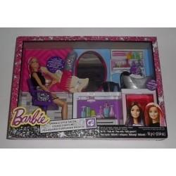 Coffret salon de coiffure Barbie