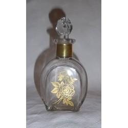 "Flacon Carafe à parfum ""dorée"""
