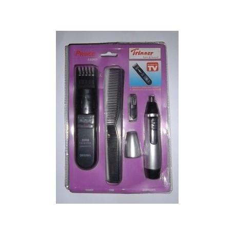 Set Tondeuse Barbe Moustache Cheveux Nez Oreilles