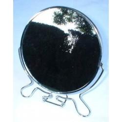 Miroir grossissant rond chrômé