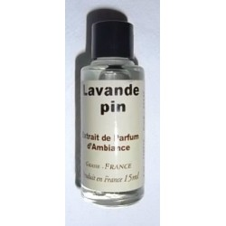 """Extrait de parfum d'ambiance """"Lavande Pin"""""""
