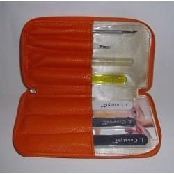 Trousse manucure De Luxe Orange
