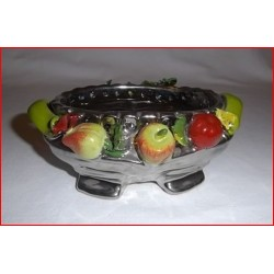 Coupe décor fruits
