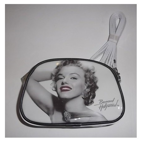 Trousse Maryline Monroe blanche