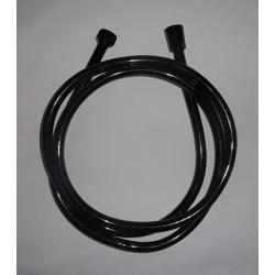 Tuyau ce douche PVC noir 2 mètre