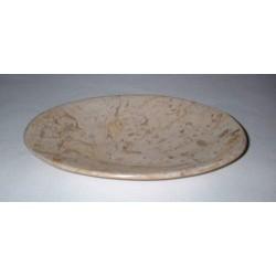 Porte savon en pierre natuelle polie