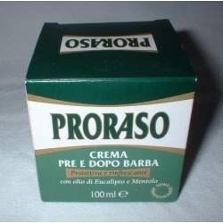 PRORASO crème pré et après rasage