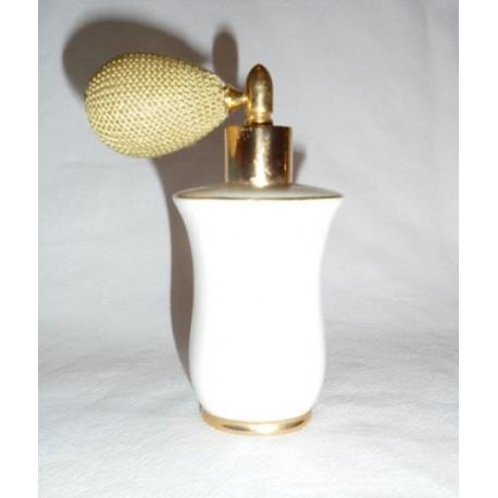 Flacon vaporisateur porcelaine blanche