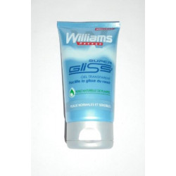 "Gel de rasage WILLIAMS ""Super Gliss'"""