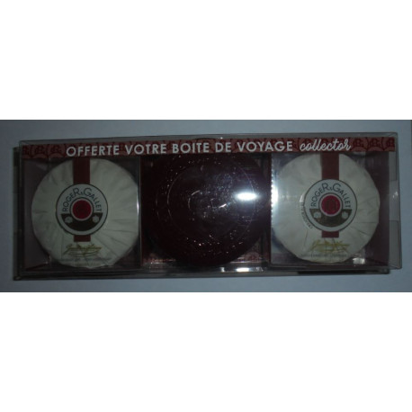 "Roger & Gallet 3 Savons parfum ""Extra vieille"" coffret collector"