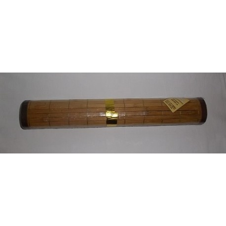Tapis de salle de bain bambou