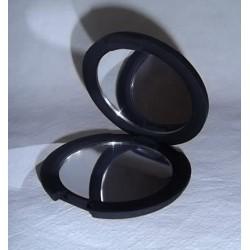 Miroir de sac noir mat