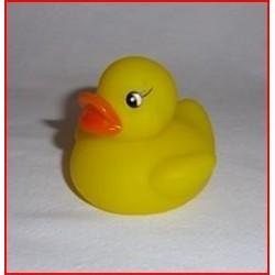 Canard jaune pour le bain