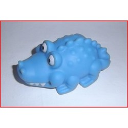 Crocodile bleu pour le bain