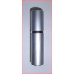 Flacon diffuseur de sac gris métallisé