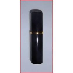 Flacon diffuseur de sac noir laqué