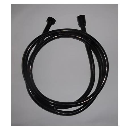 Tuyau ce douche PVC noir 1,50 mètres